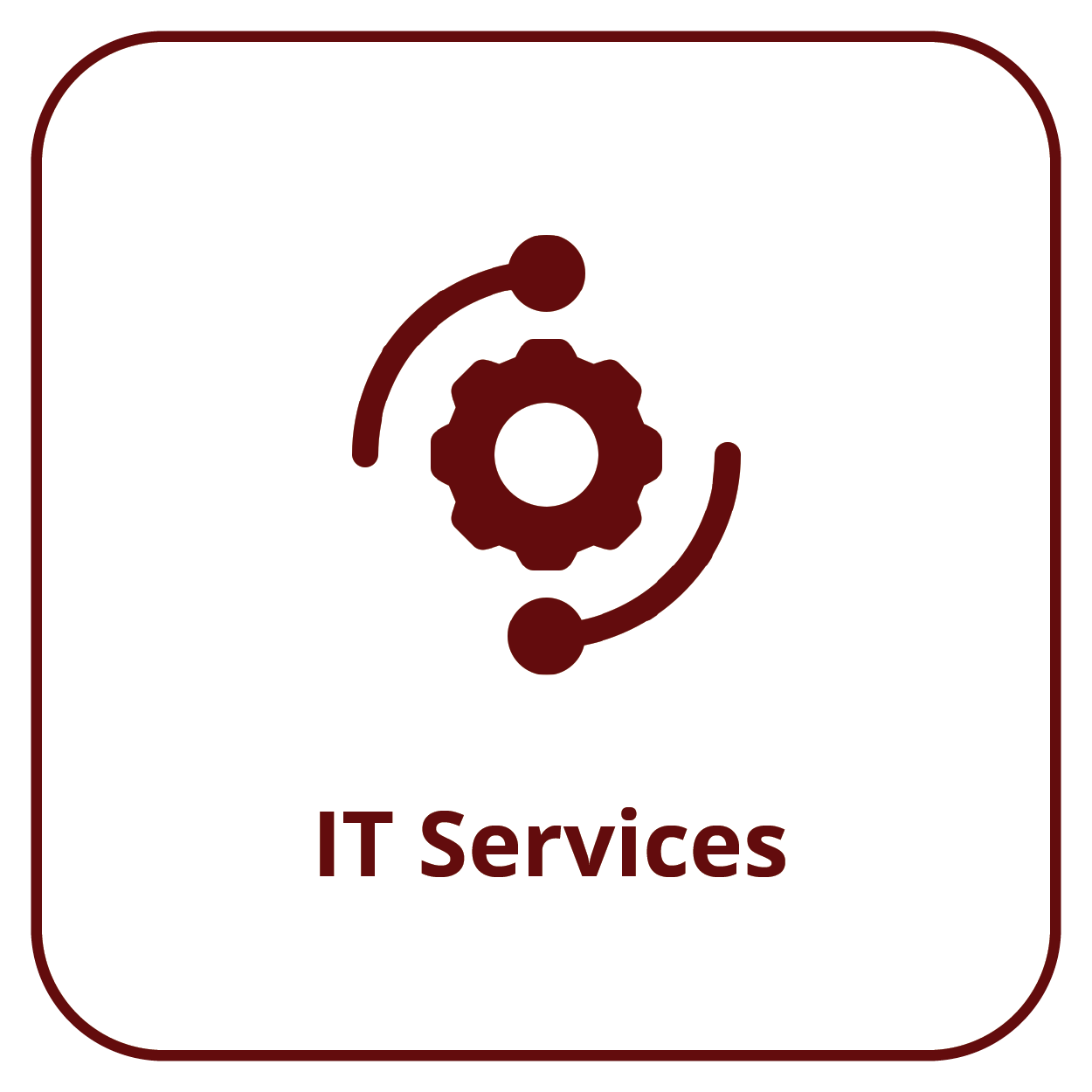 Button for IT Services