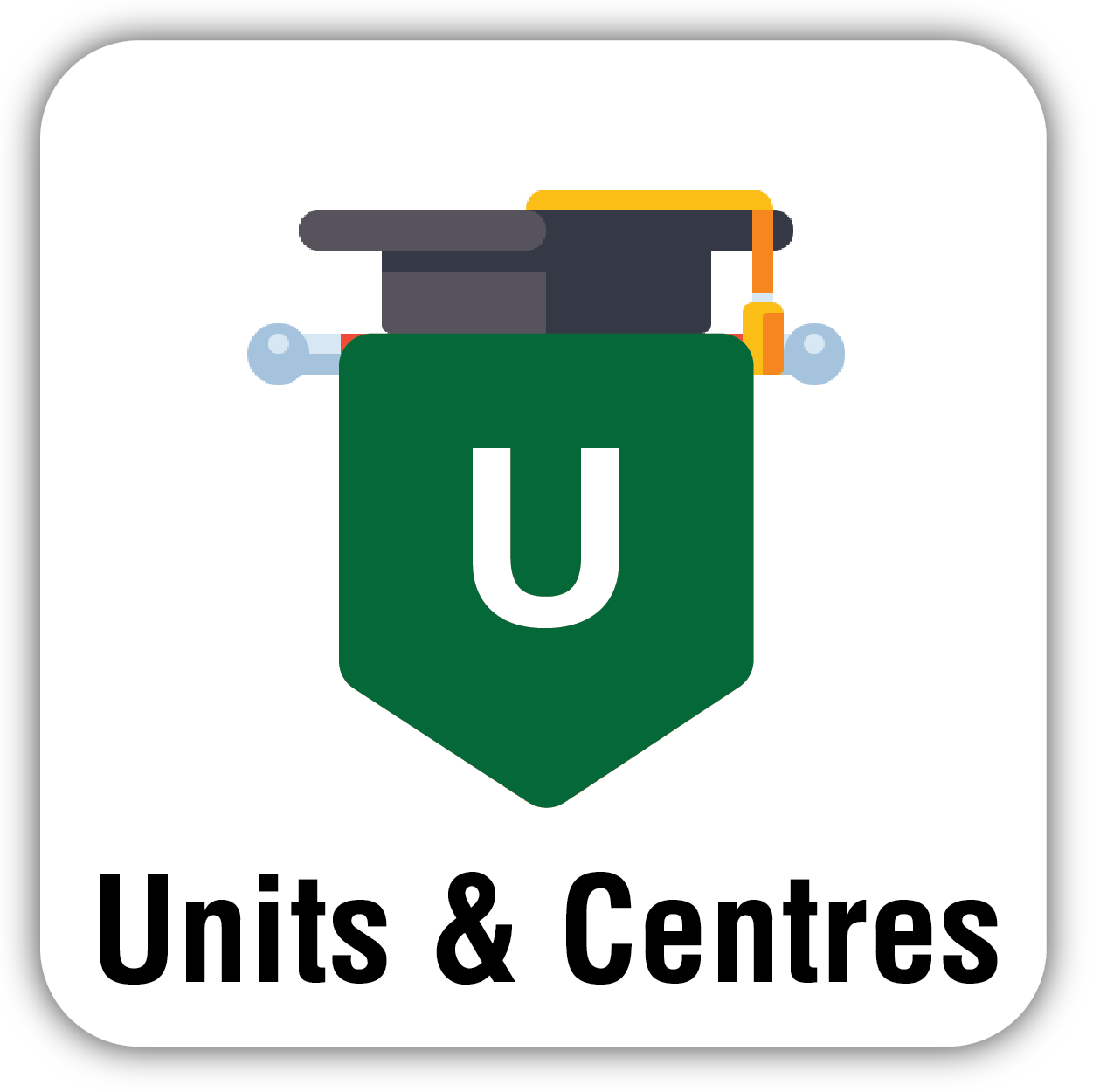 Button for Units & Centres