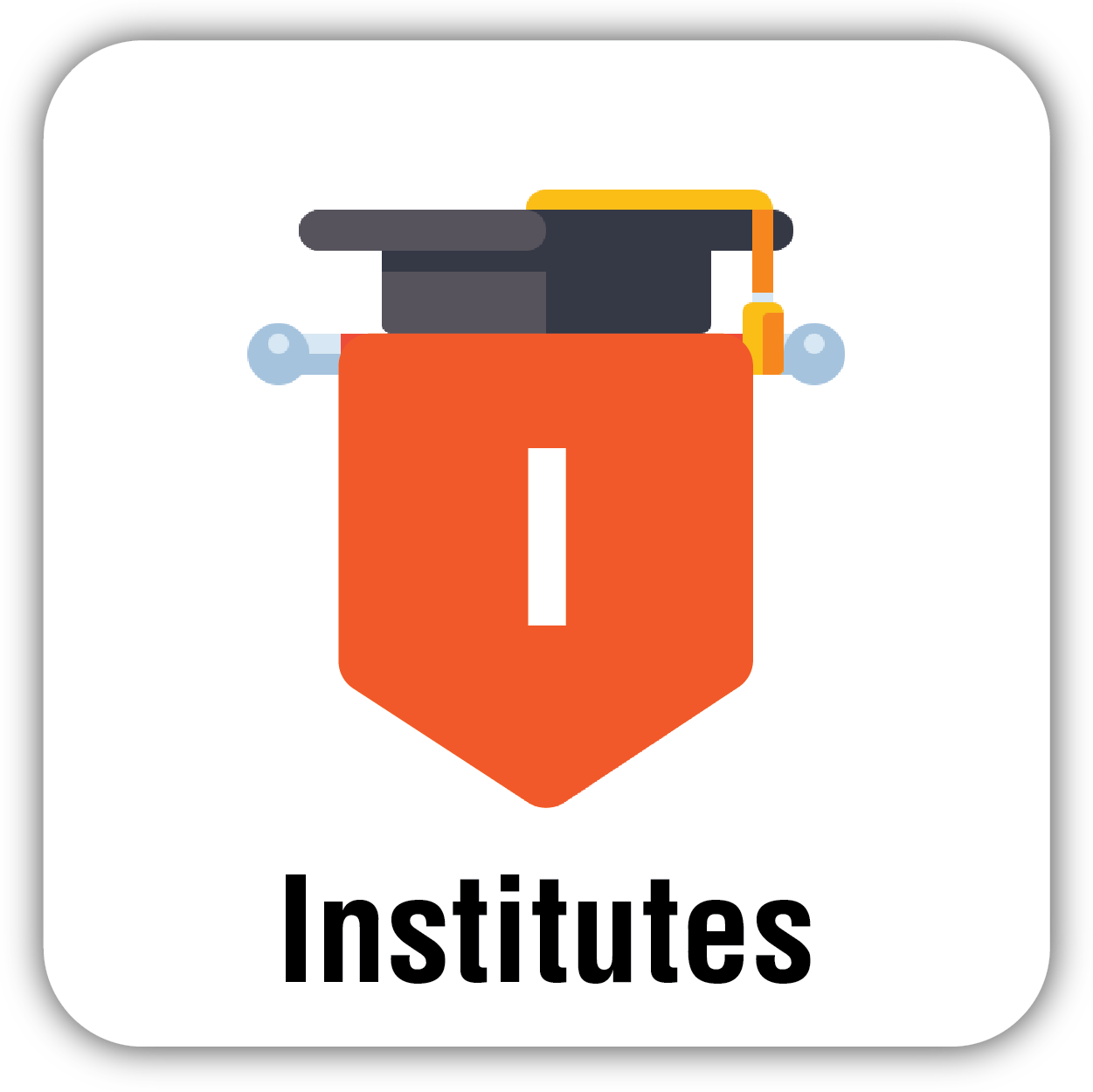 Button for Institute