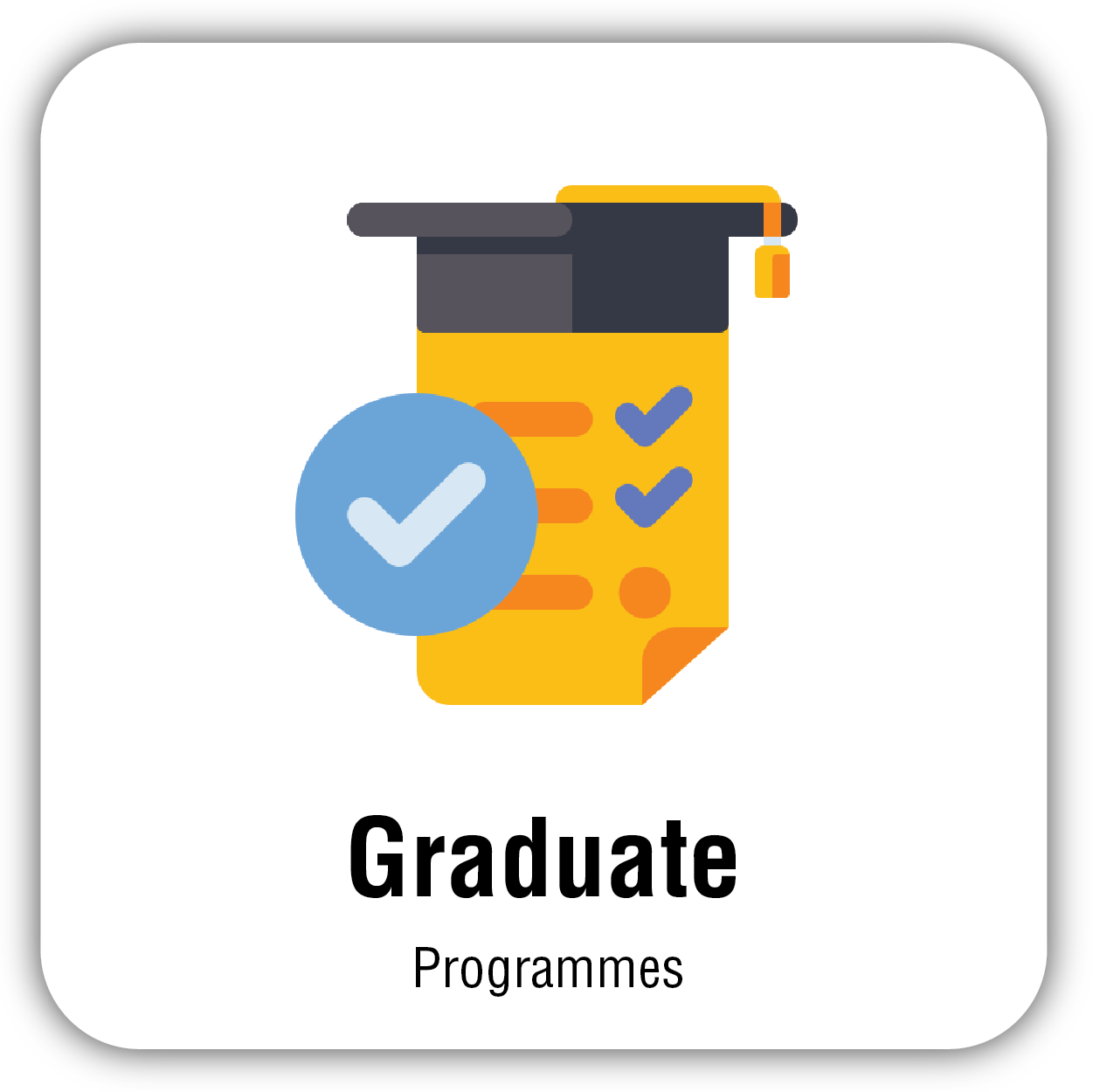 button for graduate