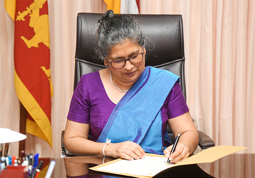 Cadre Chair & Senior Prof. Nilanthi de Silva was appointed as the Vice- Chancellor of University of Kelaniya.